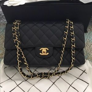 Chanel Medium Caviar Classic Bag